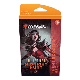 Innistrad Midnight Hunt Theme Booster Pack - Red