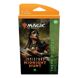 Innistrad Midnight Hunt Theme Booster Pack - Green