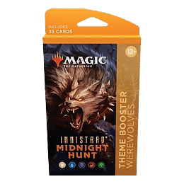 Innistrad Midnight Hunt Theme Booster Pack - Werewolf