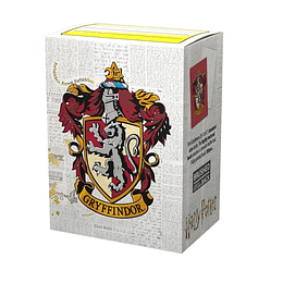 Protectores Dragon Shield Brushed Wizarding World: Gryffindor (x100)