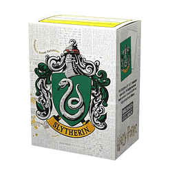 Protectores Dragon Shield Brushed Wizarding World: Slytherin (x100)