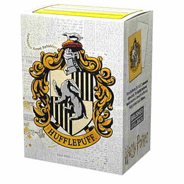Protectores Dragon Shield Brushed Wizarding World: Hufflepuff (x100)
