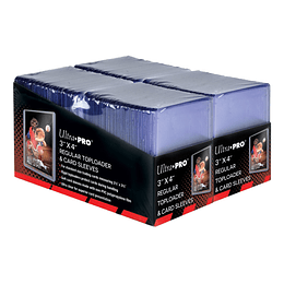 Toploaders Ultra-Pro - Regular 3'' x 4'' Combo (200 protectores + 200 toploads)
