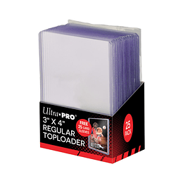 Toploaders Ultra-Pro - Regular 3'' x 4'' (x25) + 25 protectores