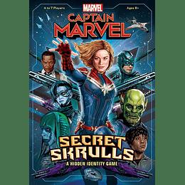 Captain Marvel: Secret Skrulls (Inglés)