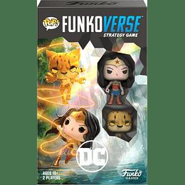 Pop! Funkoverse: DC Wonder Woman and Cheetah (Inglés)