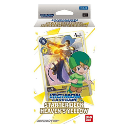 Mazo Digimon CCG: Starter Deck Heaven's Yellow (ST-3)