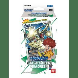 Mazo Digimon CCG: Starter Deck Giga Green (ST-4)
