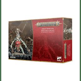 Orruk Warclans: Breaka-boss on Mirebrute Troggoth - Jefe Domador en Troggoth Lodoso