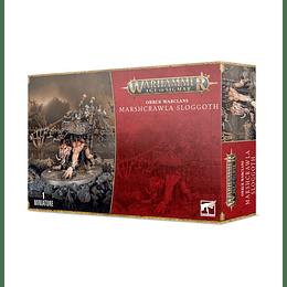 Orruk Warclans: Marshcrawla Sloggoth - Trepapantanoz Sloggoth