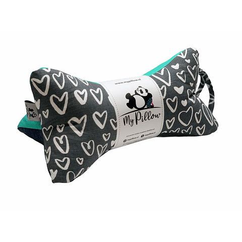 MY PILLOW HEARTS GRIS