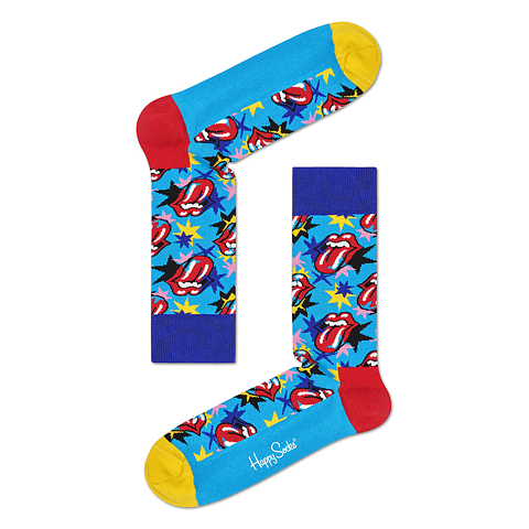 ROLLING STONES SOCK BOX SET X 3