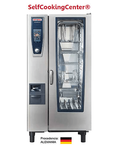 Horno Rational a Gas 20 bandejas GN 1/1 Serie SCC201G