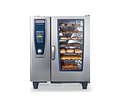 Horno Rational a Gas 10 bandejas GN 1/1 Serie SCC101G