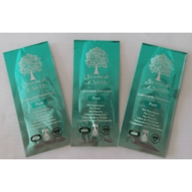 Lubricante Sachet Pure Pack 3