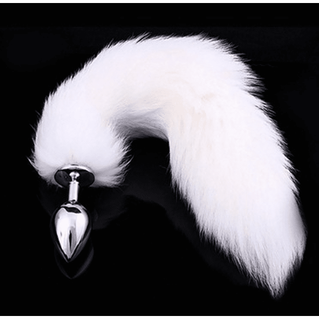 ​Butt Fox Tail White