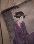 Banderín Geisha en Lila