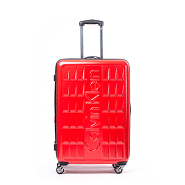 Maleta Cornell Rojo 24'' Calvin Klein