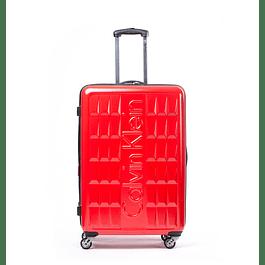Maleta Calvin Klein / Cornell Rojo / Medium 24''