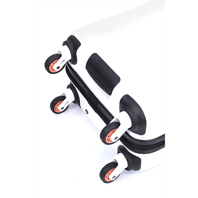 Maleta Calvin Klein / Delancy Blanco / Large 28''