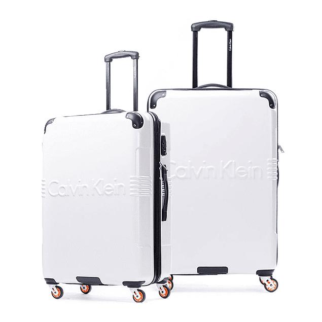 Pack Calvin Klein / Delancy Blanco M - L