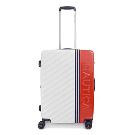 Maleta Nautica / Mondrian White - Red  / Medium