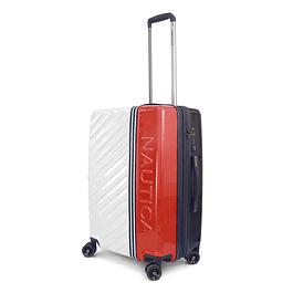 Maleta Nautica / Mondrian White Red  / Medium 24