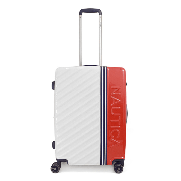Maleta Nautica / Mondrian White - Red / Large