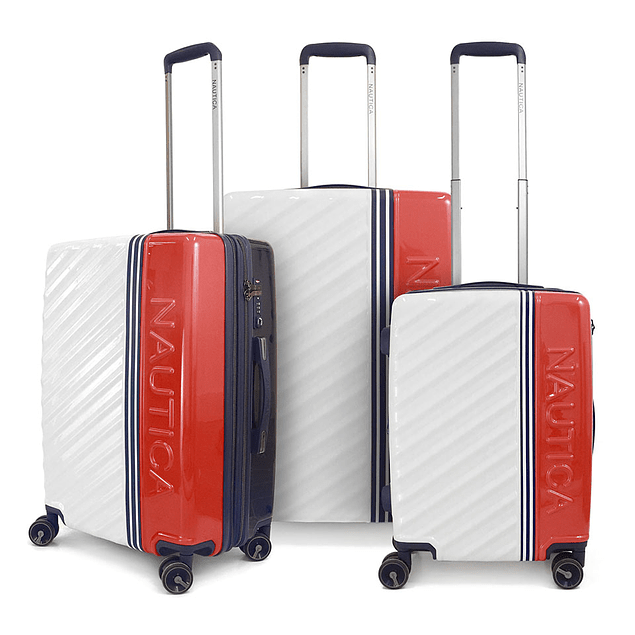 Set Nautica / Mondrian White - Red