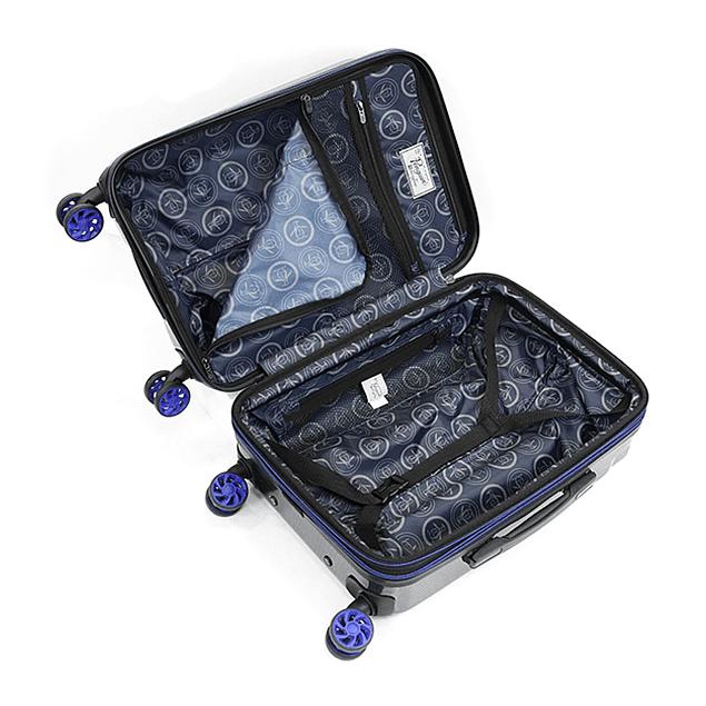 Maleta Penguin / Harold Negro Azul / Medium