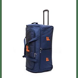 Bolso Con Ruedas Maxfit Azul 76 F