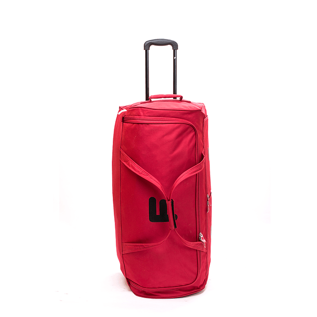 Bolso Con Ruedas Maxfit Rojo76 F