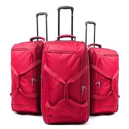 Set Bolsos F Force Rojo 3 Piezas XL-L-M