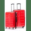 Pack Maleta Cornell Rojo M+L Calvin klein