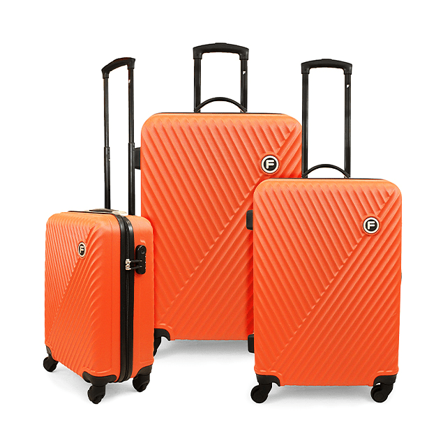 Set Maleta F / Limit Naranja / 3 Piezas