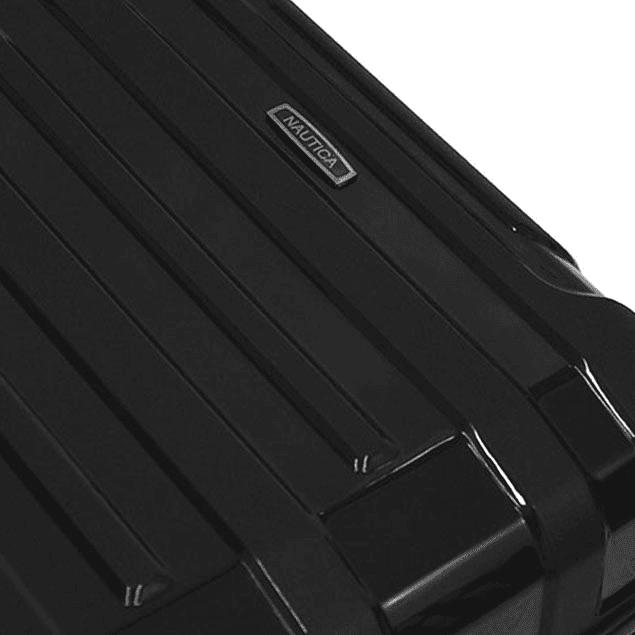 Pack Maletas Nautica Liberty Negra S+L