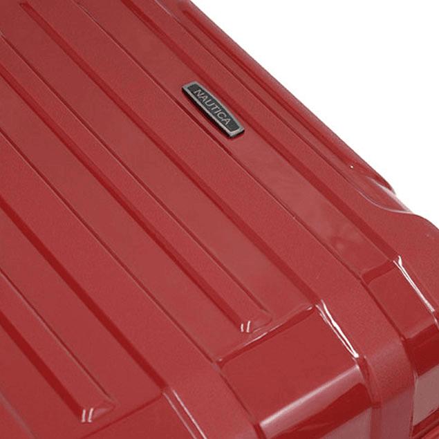 Pack Maletas Nautica Liberty Rojo S+L