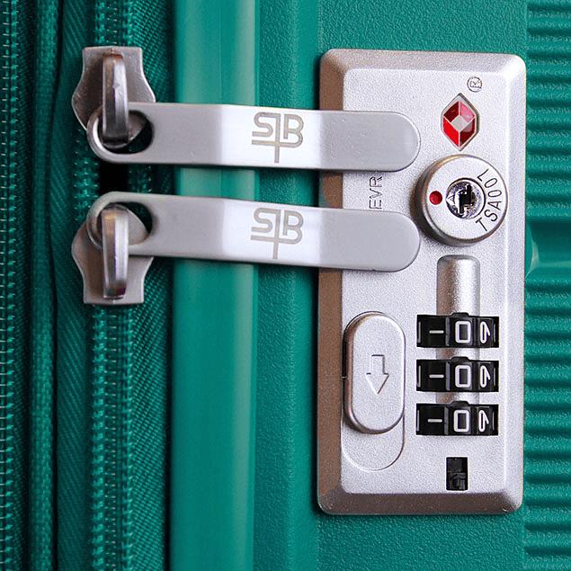 Pack Maletas Xpos SwissBag M+L Verde