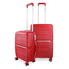 Pack Maletas Xpos SwissBag S+M Rojo
