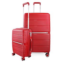 Pack Maletas Xpos SwissBag S+L Rojo