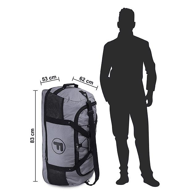 Bolso XL Goliat Gris F - Enrollable