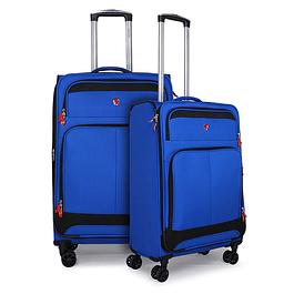 Pack Maletas Falun Azul M+L