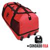 Bolso XL Goliat Rojo + Candado Fila