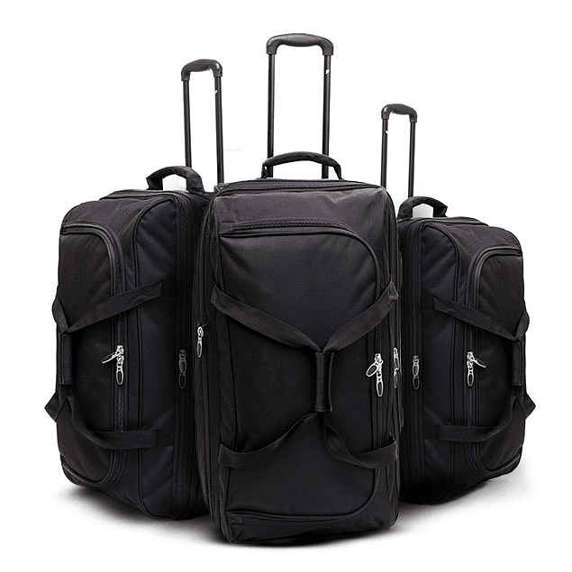 Set de 3 bolsos con ruedas F / FORCE