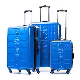 Set Maletas Calvin Klein / Cornell Azul / 3 Piezas