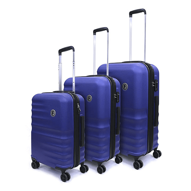 Set Maleta 3 Piezas Aero Racer Azul F