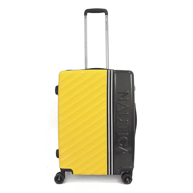 Maleta Nautica / Mondrian  Yellow - Deep Gray / Large