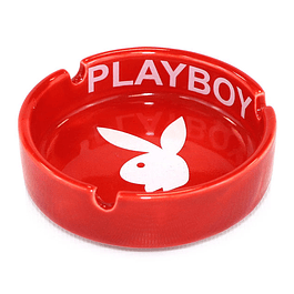 Cenicero Circular / Play Boy / Rojo