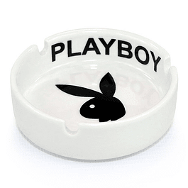 Cenicero Circular / Play Boy / Blanco