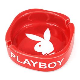 Cenicero Cuadrado / Play Boy / Rojo